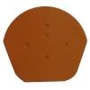 Terracotta Half Round End Cap (2 Pack)