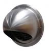 Ubbink 125mm Circular Wall Terminal With Mesh - INOX