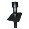 Ubbink UB46 Insulated Roof Terminal 125mm Black